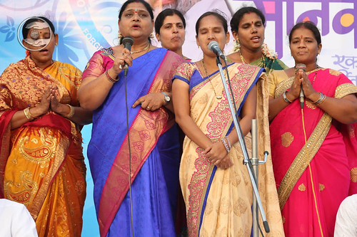 Welcome song by Shobha and Saathi from Vishakhapatnam, Andhra Pradesh