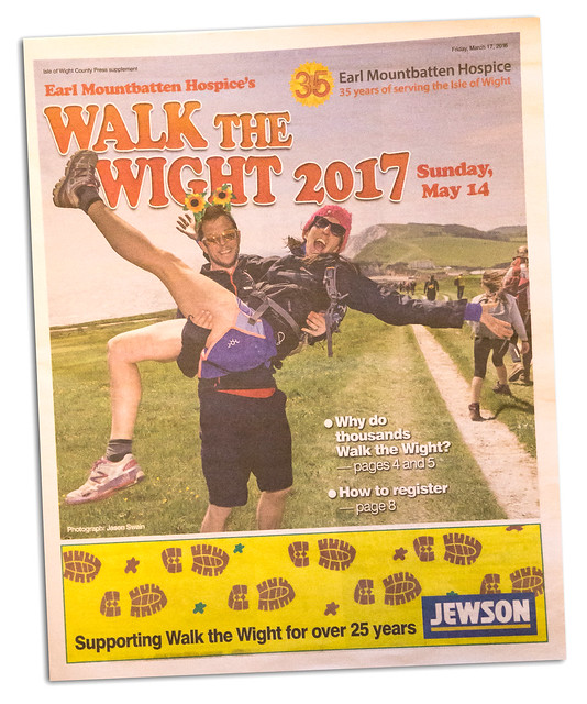 Walk the Wight 2017 - Isle of Wight County Press.