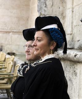 donne in costume antico   scanno abruzzo