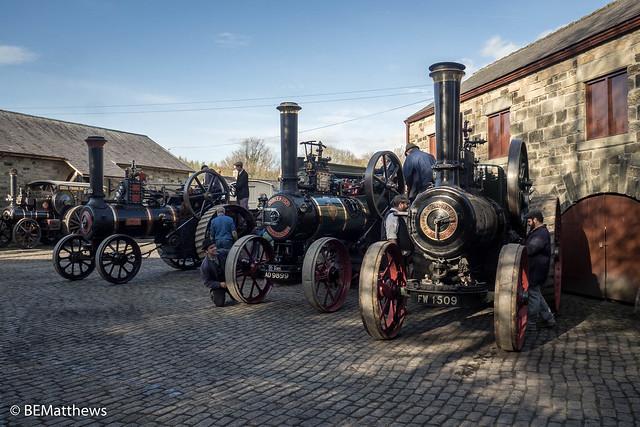 Station Yard at Beamish