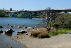 Folsom Boulevard Bridge over the American River