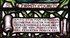 Elizabeth, widow of Charles Teesdale died 19th November 1913 (Mary Lowndes, 1916)