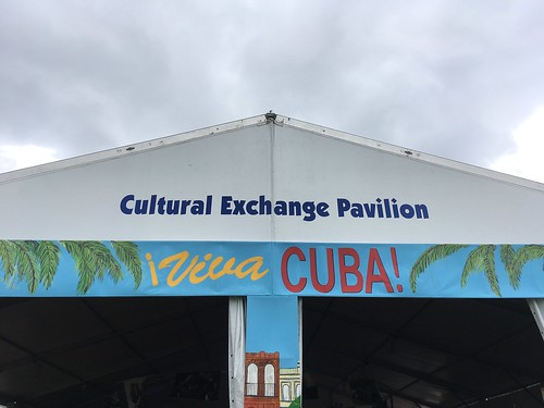 Cultural Exchange Pavilion - Viva Cuba! at Day 1 Jazz Fest - April 28, 2017