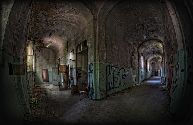 Abandoned N° 1 - ex madhouse - Mombello