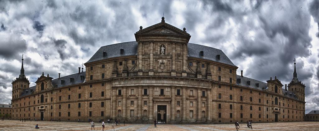Fachada principal Monasterio El Escorial | El Monasterio de … | Flickr