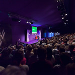 Sandi Toksvig and audience | There was a full house when Sandi Toksvig came to Edinburgh