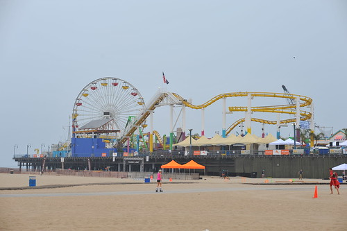 Early at Santa Monica Pier