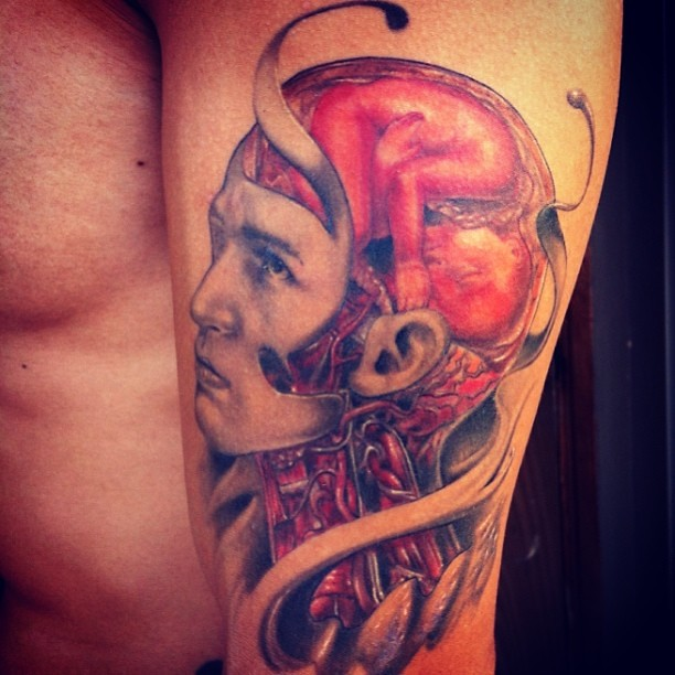 23d6e3e80 Never showed you guys this one finished.. My tattoos are d… | Flickr