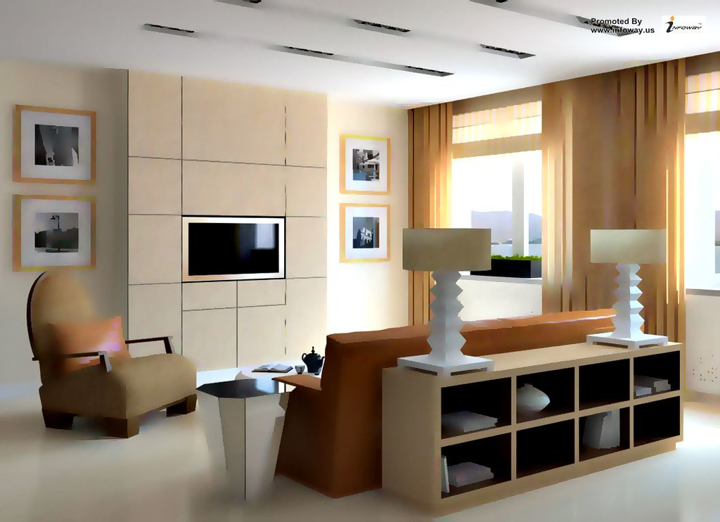 living room modern brown living room interior design with brown sofa and tv wall unit elegant interior design ideas for living rooms