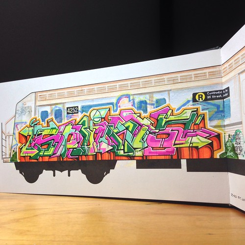 """5 Pointz"" panel piece 