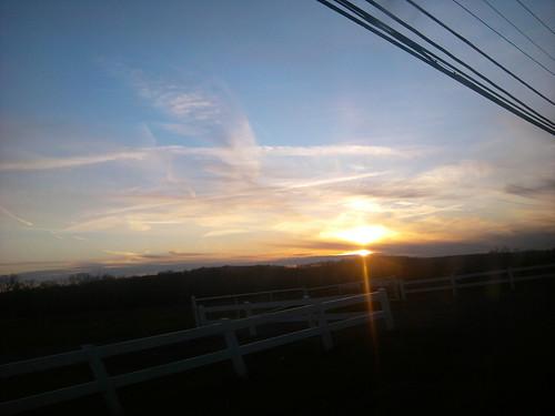 county camera sunset ohio sky sun lake water clouds sunrise outside driving phone summit akron