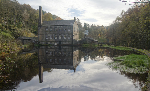 Gibson Mill, Hebden Water - Explored 16.11.13