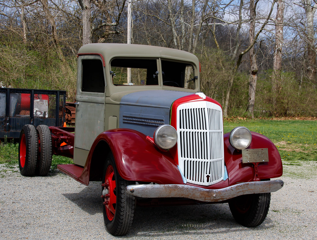 1938 REO Speedwagon | SW, Ohio  This truck is being restored