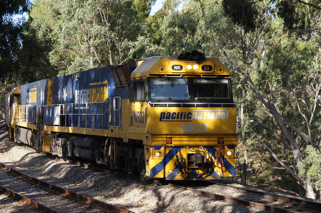 NR22 Overland Pinera 28/12/13 by class400railcar