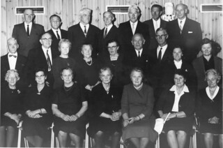 50-årskonfirmanter i Åsen (1966)