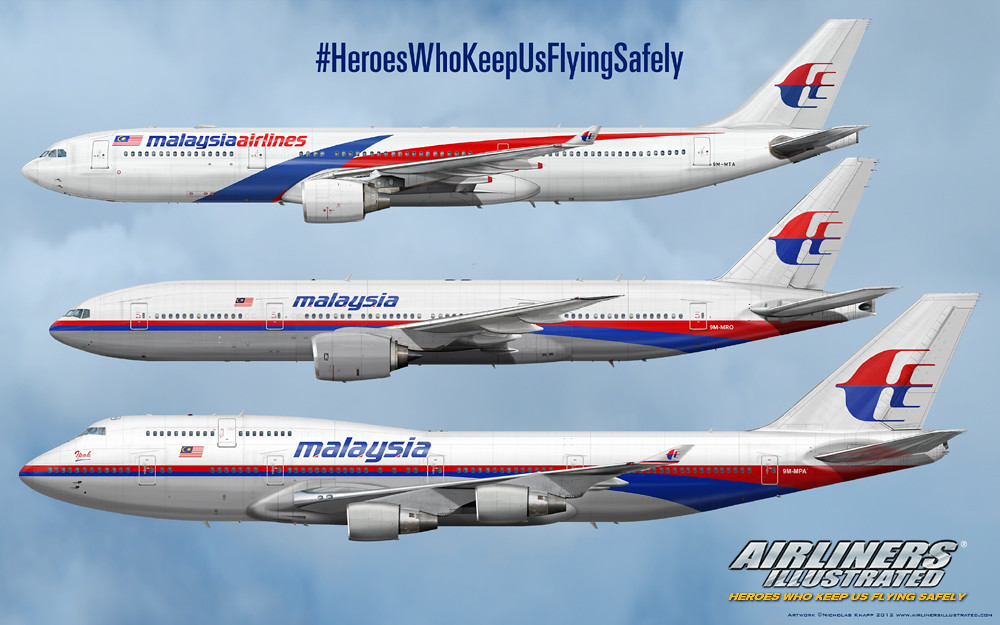 57e66bd3ee6e ... Malaysia Airlines Airbus A330-300 Boeing 777-200ER Boeing 747-400  Realistic Airliner