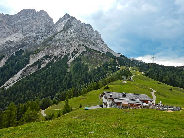 Ehrwalder Alm (1.500m), Ehrwald, Tirol - Austria (N1045)