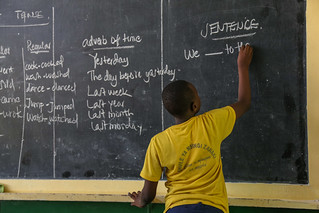 Students in Primary Seven at Zanaki Primary School | by World Bank Photo Collection