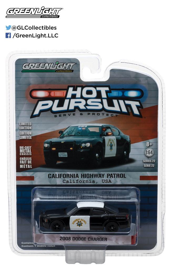 42790-D - 1-64 Hot Pursuit Series 22 - 2008 Dodge Charger