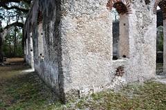 South Carolina, Beaufort County- St. Helena Island, St. Helena Parish Chapel Of Ease (Ruins)