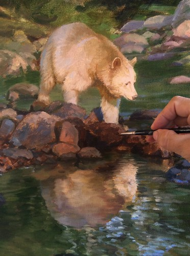 Spirit Bear- detail