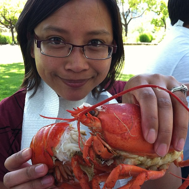#kvpinmybelly : #Lobster fan in #Napa. Also, new profile photo?!? What do you think?