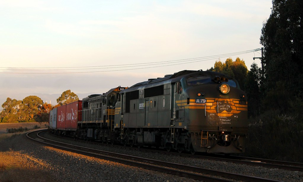 Pacific National's Last 9462 at  Herne's Oak loop by S312 Photography