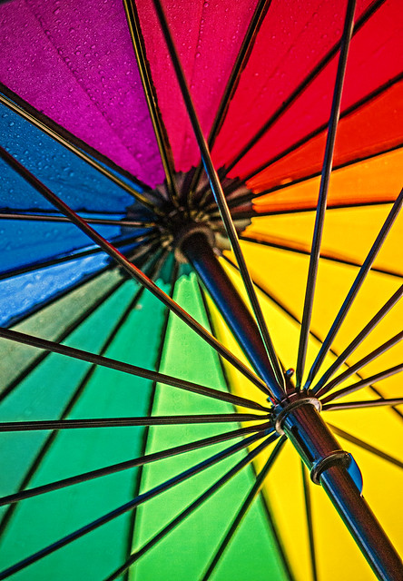 Colours of rain