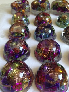 mini orgone domes