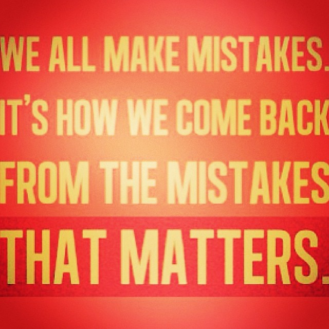 repost #quotes #mistakes #minor #setback for a #major #co ...