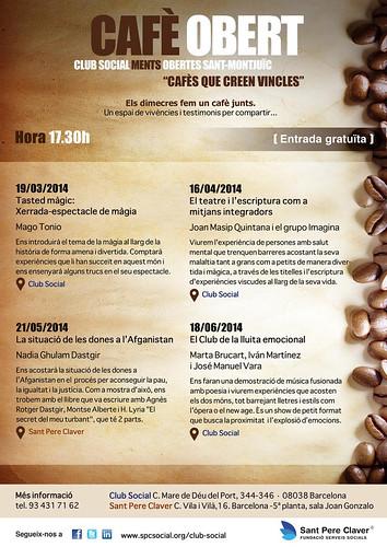 Cafè Obert 2014 - Club Social Ments Obertes | by Grup - Fundació Sant Pere Claver