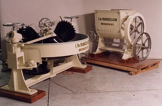 1914 First lineup of Pasta machines
