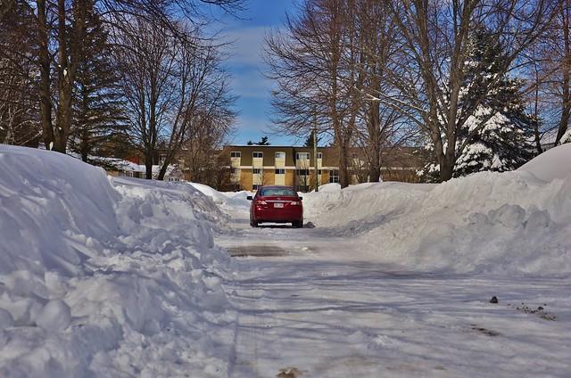 Giant Snow Banks III
