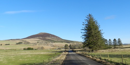 tap noth aberdeenshire mountain hill walk trees narrow road route remote lonely rural countryside allanmaciver