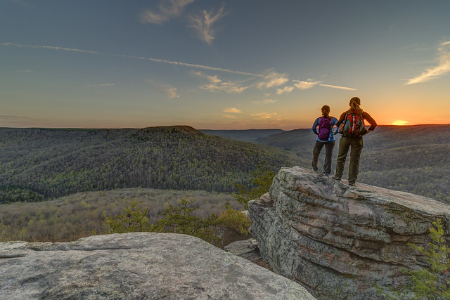 Sarah Cunningham, Megan Farris Choate, Welch Point, Bridgestone Firestone Centennial Wilderness WMA, White County, Tennessee 3