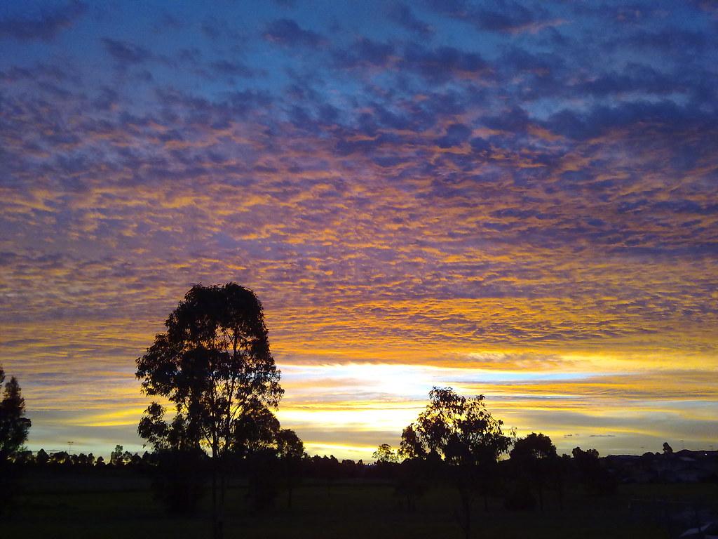 Sunset, Glenwood, NSW.