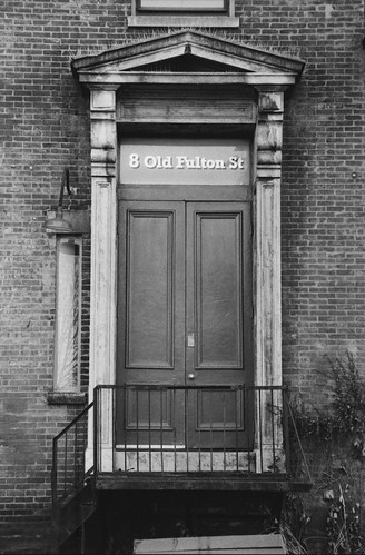 8 Old Fulton St Door   by BrianR