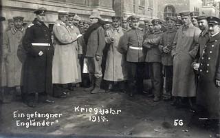 """""""Ein gefangner Engländer - Kriegsjahr 1914"""""""