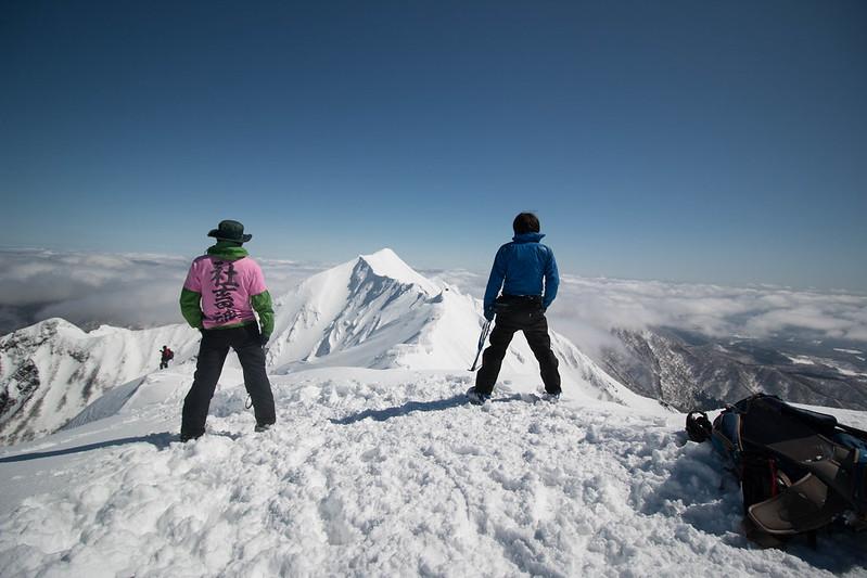 厳冬期の伯耆大山