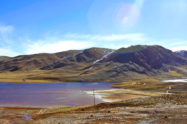Desembocadura en Milluni