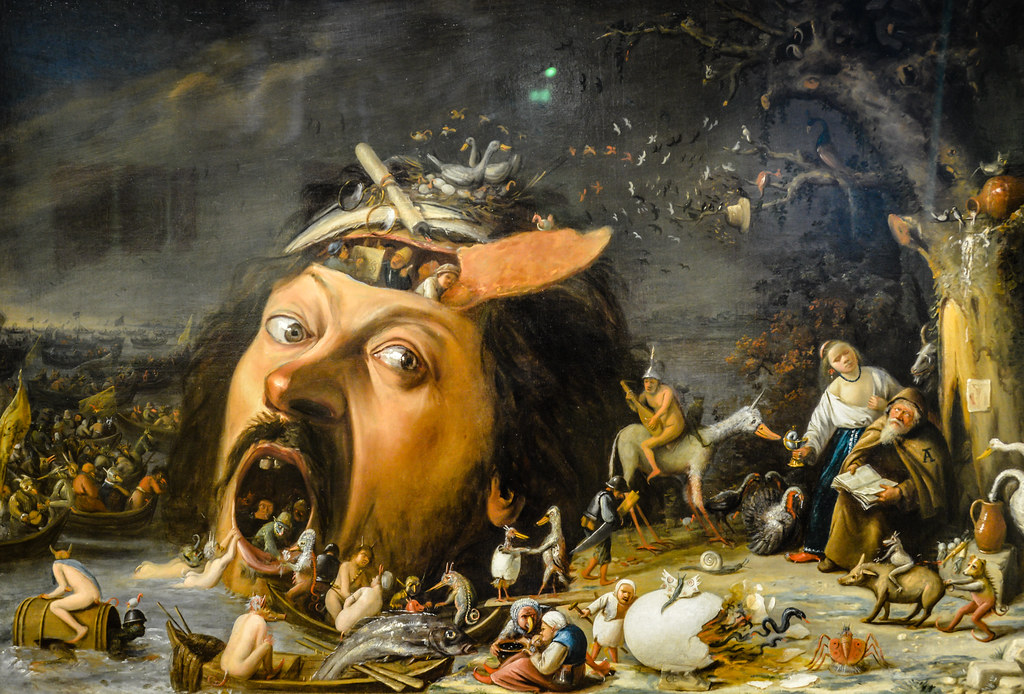 Bildergebnis für Die Versuchung des hl. Antonius – Joos van Craesbeeck – 1650 ?