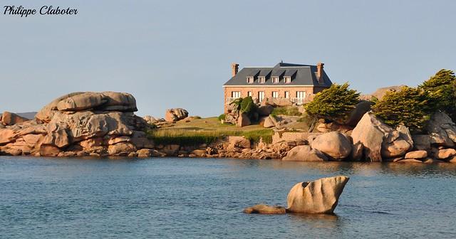 Paysage breton (île Renote - Trégastel)
