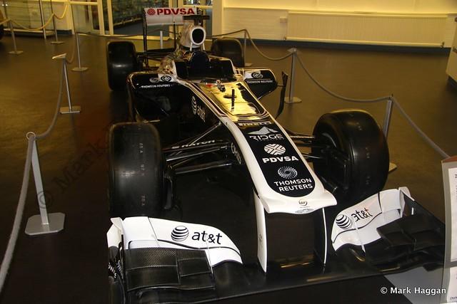 Pastor Maldonado's 2011 Williams FW33 F1 car