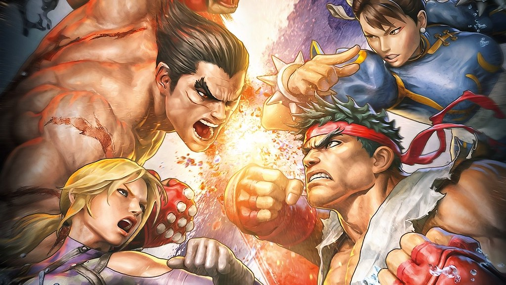 Street Fighter X Tekken Wallpaper 2333154 Solidsmax Flickr