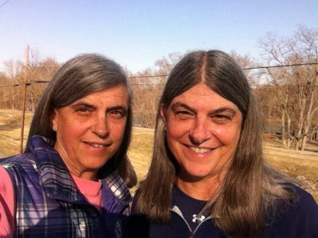 me & my sister at Lockhouse 49