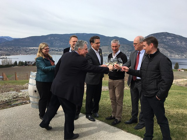 BC provides more than $600,000 to support new viticulture diploma at Okanagan College