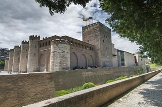 Palacio de la Aljafería. ZARAGOZA. SPAIN.
