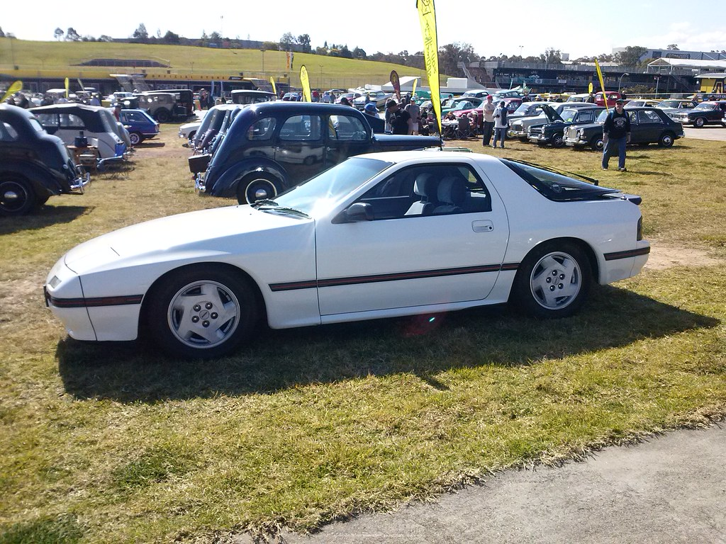 Mazda Rx7 2015 >> 1986 Mazda Rx7 Taken At 2015 All Clubs Day At Sydney Motor