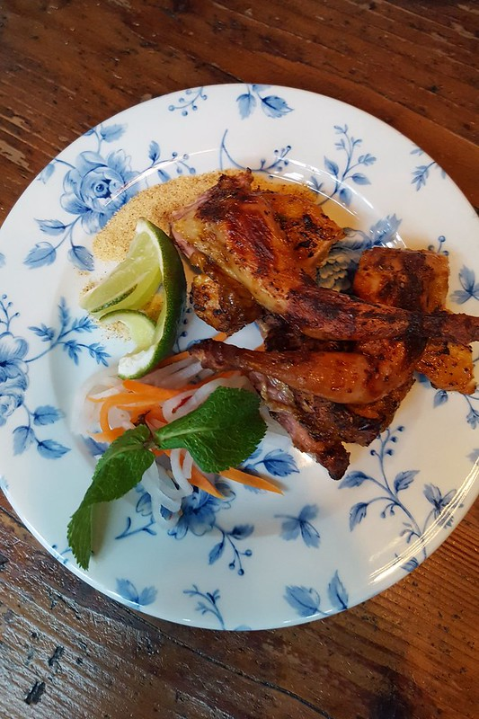 Deliciously spiced quail (Large)