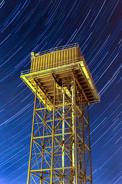 45 Minute Water Tower Star Trails 02/04/17